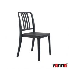 Vanna Rock Side Chair - Anthracite